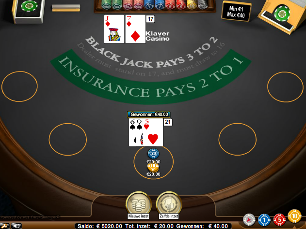 Screenshot Blackjack Spelen